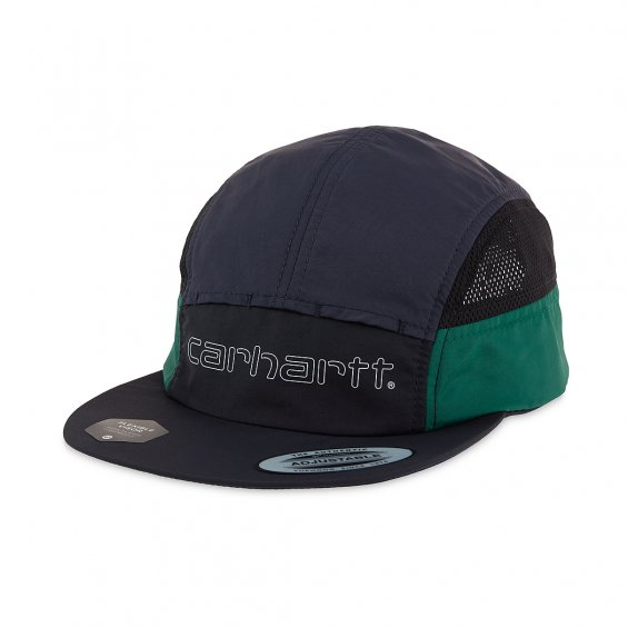 Carhartt Terrace Cap, Black Dark Navy Bottle Green