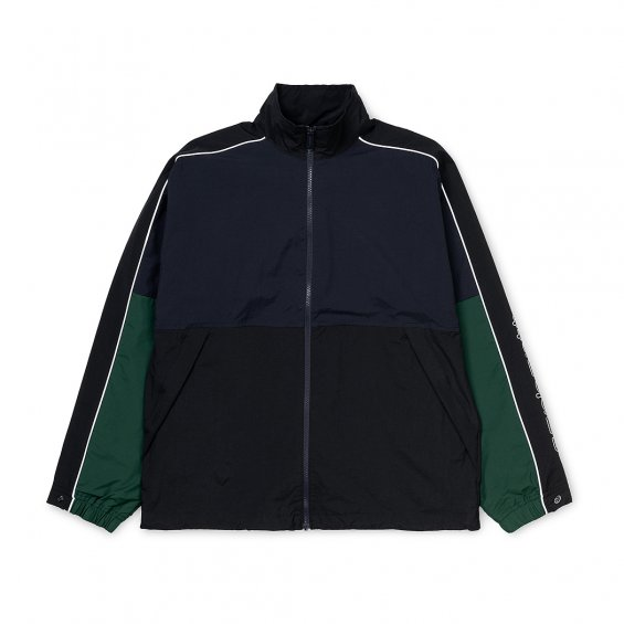 Carhartt Terrace Jacket, Dark Navy Black Bottle Green