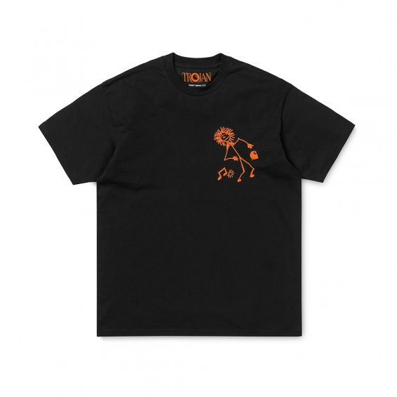 Carhartt Trojan King Of Sound SS T-shirt, Black