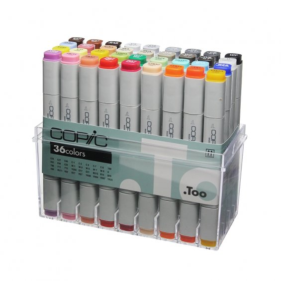 Copic Marker 36-set