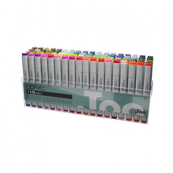Copic Marker 72-set A