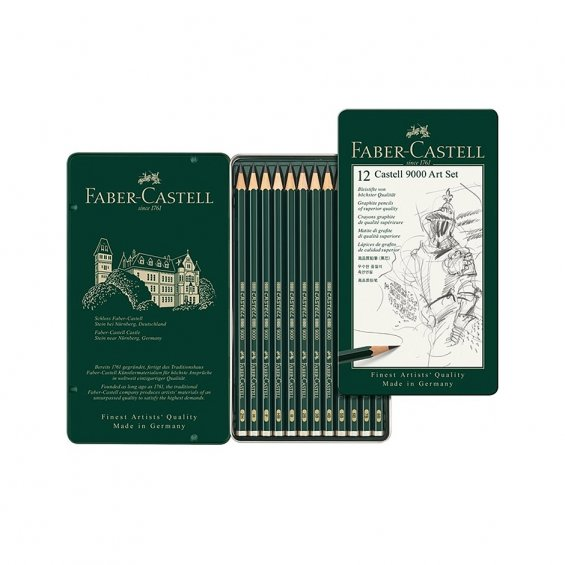 Faber-Castell 9000 Art 12-Set