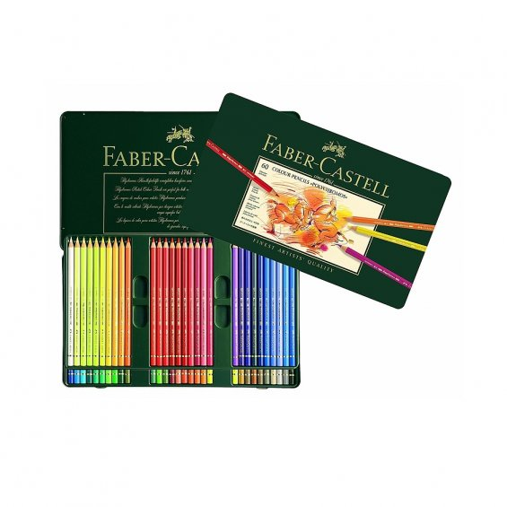 Faber-Castell Color pencils Polychromos 60-set