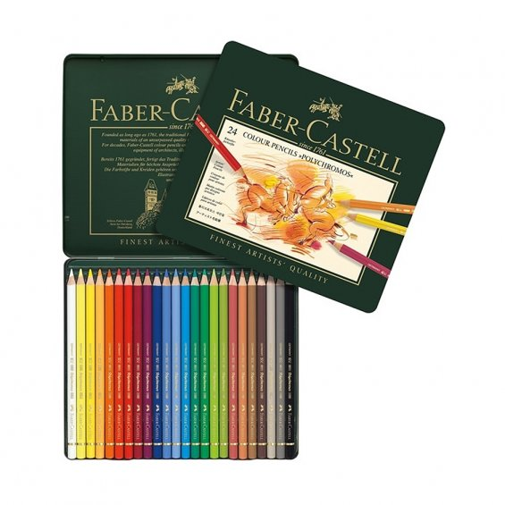 Faber-Castell  Polychromos Color pencils 24-set