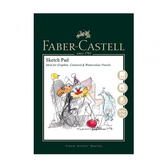 Faber-Castell Art & Graphic Sketch Pad, A4