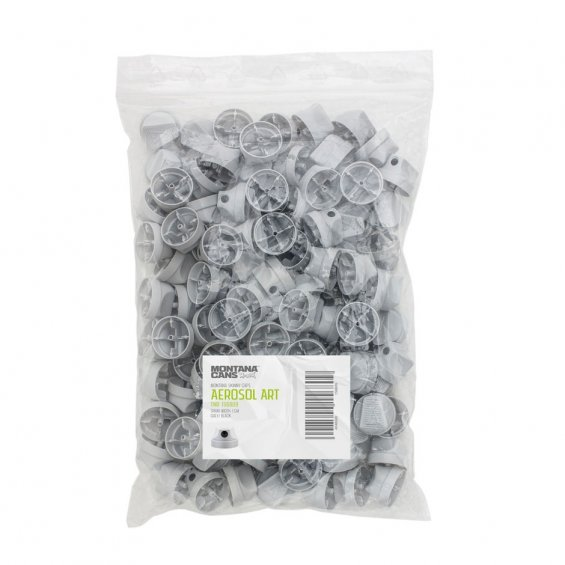 Grey Soft Cap - Big Pack 100