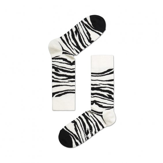 Happy Socks Zebra, White