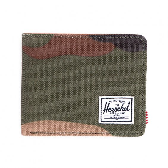 Herschel Supply Hank Wallet, W Camo Tan