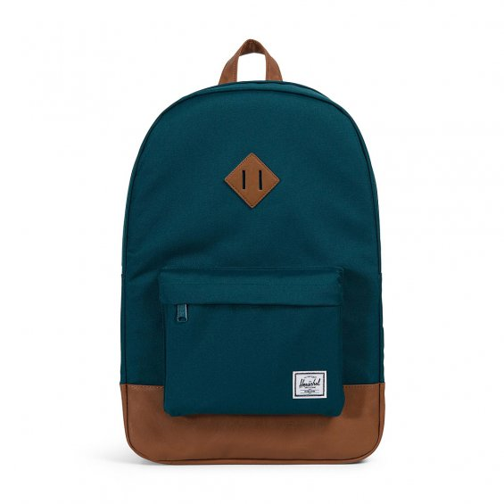 Herschel Supply Heritage Backpack, Deep Teal Tan