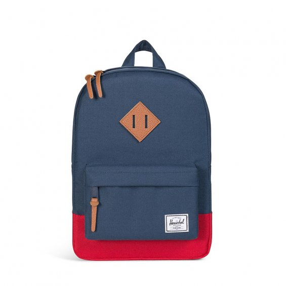 Herschel Supply Heritage Kids, Navy Red