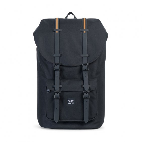 Herschel Supply Little America, Black Rubber Gum