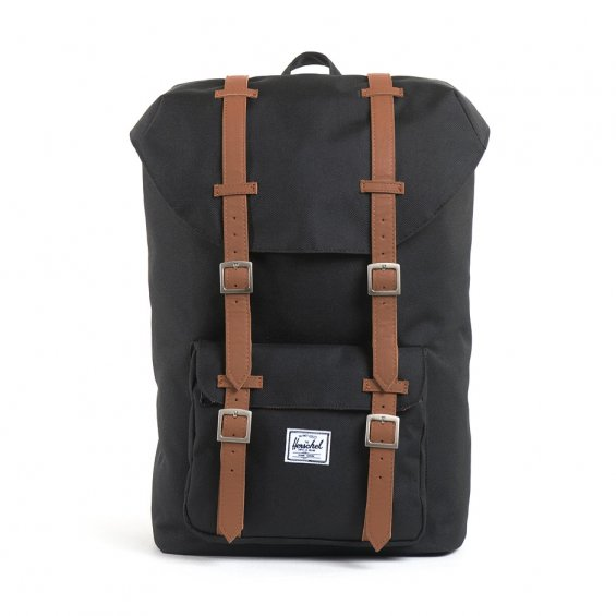 Herschel Supply Little America Mid-Volume, Black