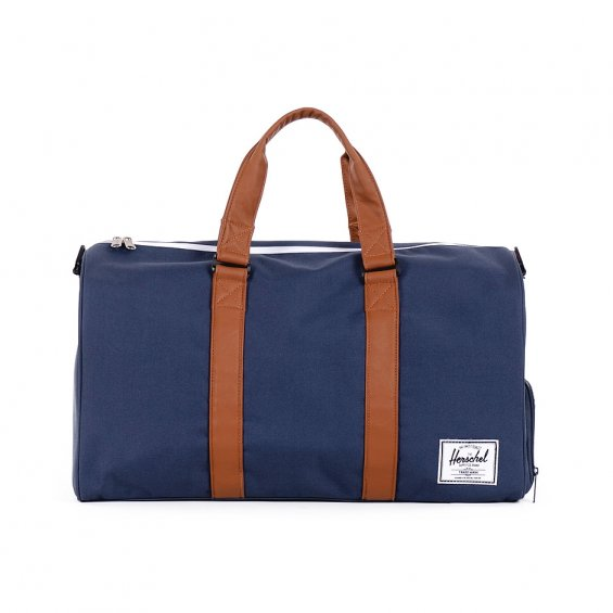 Herschel Supply Novel Duffle, Navy Tan