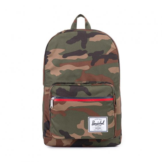 Herschel Supply Pop Quiz, Woodland Camo Multi Zip