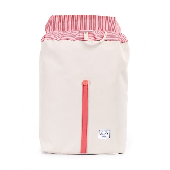 Herschel Supply Post, Natural Foliage Flamingo Rubber