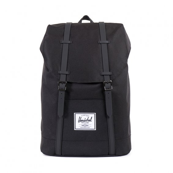 Herschel Supply Retreat, Black Black PU