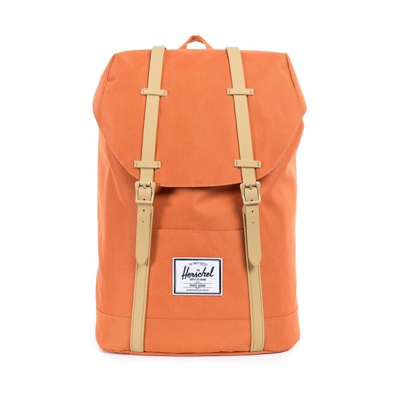 Herschel Supply Retreat, Carrot Khaki Rubber