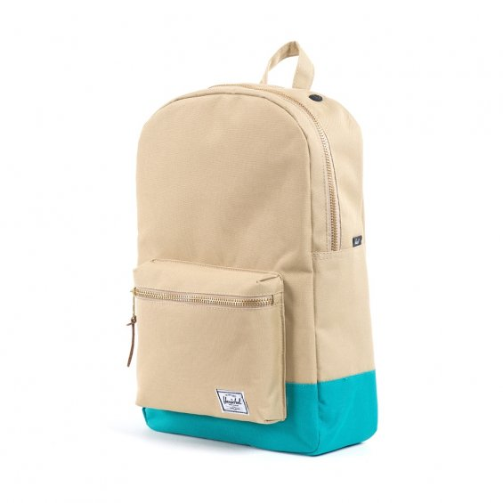 Herschel Supply Settlement Backpack, Khaki/Teal