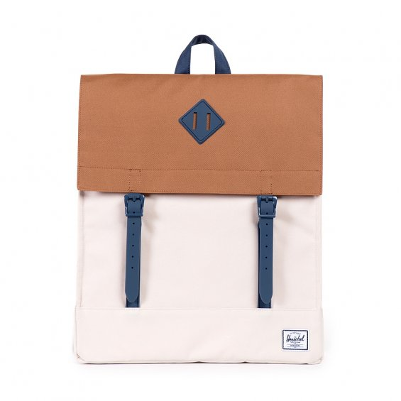 Herschel Supply Survey, Natural Caramel Navy Rubber