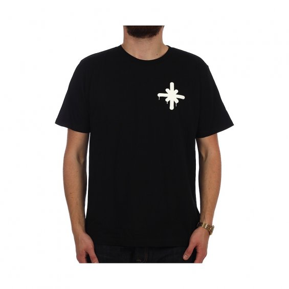 Highlights Small Logo Tee, Black