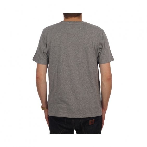 Highlights Small Logo Tee, Heather Grey
