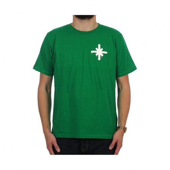 Highlights Small Logo Tee, Kruten Green