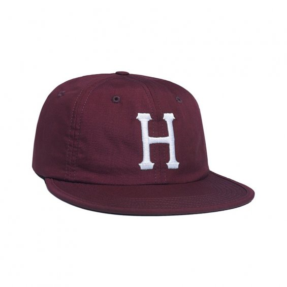HUF Formless Classic H 6-Panel, Maroon