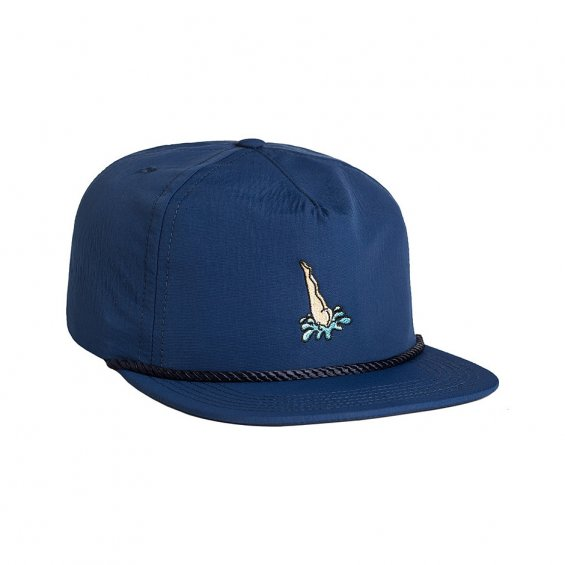 HUF Head First Snapback, Navy