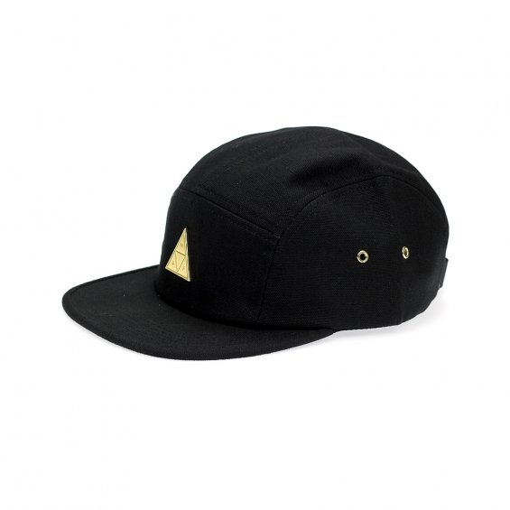 HUF Metal Triple Triangle Volley 5-Panel, Black
