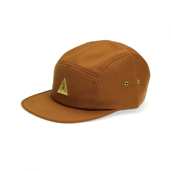 HUF Metal Triple Triangle Volley 5-Panel, Caramel