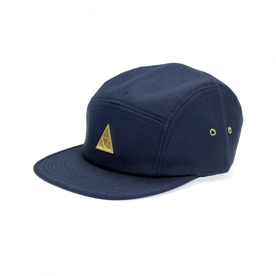 HUF Metal Triple Triangle Volley 5-Panel, Navy