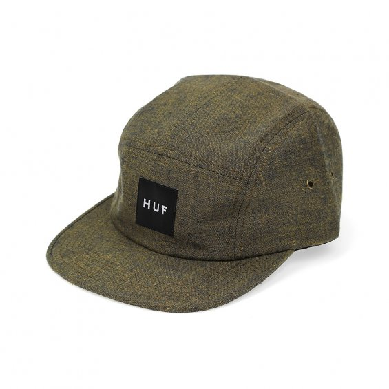 HUF Osaka Volley 5-panel, Burned Mustard
