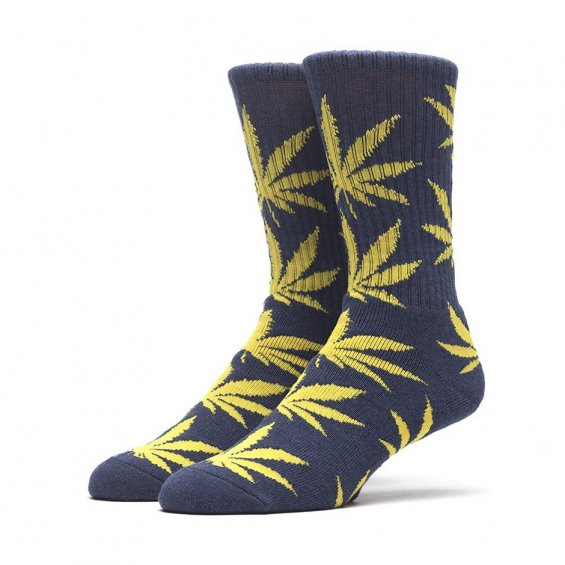 HUF Plantlife Crew Sock, West P Navy
