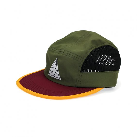 HUF Scout Side Mesh Volley 5-Panel, Olive