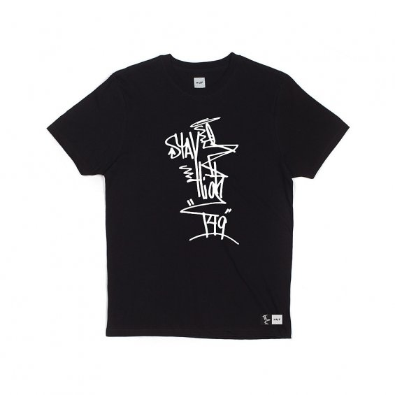 HUF Stay High 149 Full Tag Tee, Black