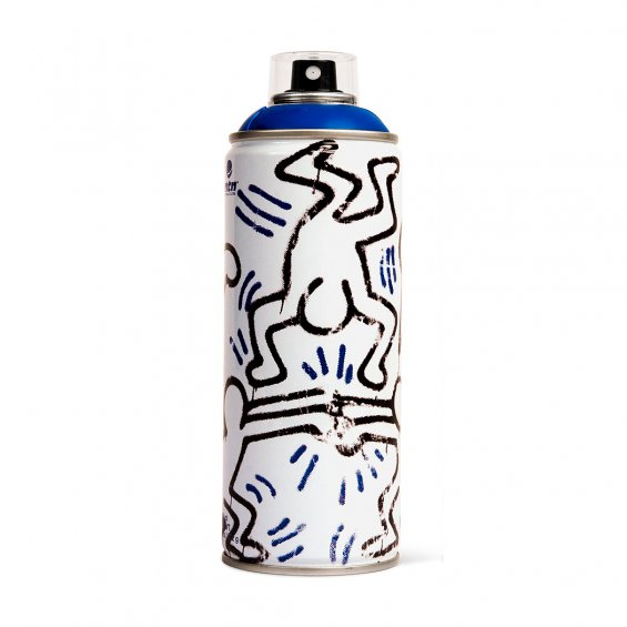 MTN limited edition 400ml - Keith Haring, Dark Blue