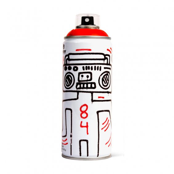 MTN limited edition 400ml - Keith Haring, Vivid Red