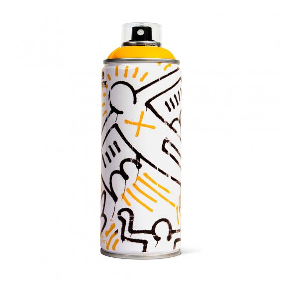 MTN limited edition 400ml - Keith Haring, Medium Yellow