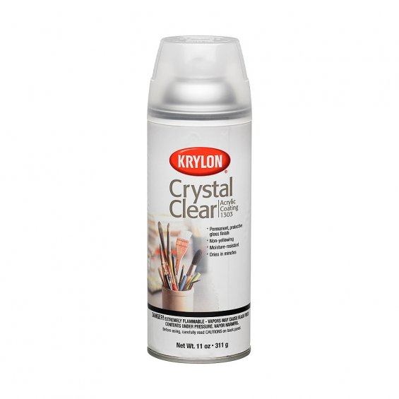 Krylon Crystal Clear Acrylic Klarlack 400ml