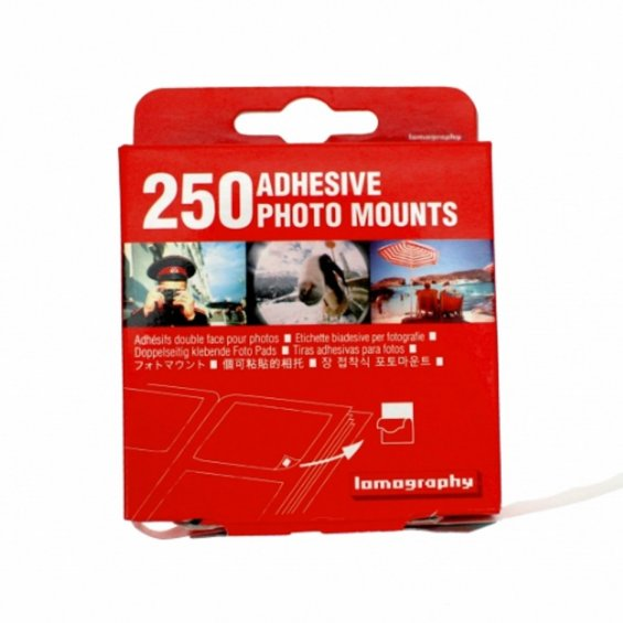 Lomography Adhesive Photo Mounts, 250 pack