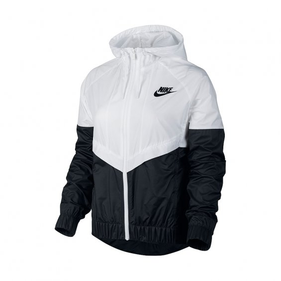 Nike Wmns Windrunner, White Black