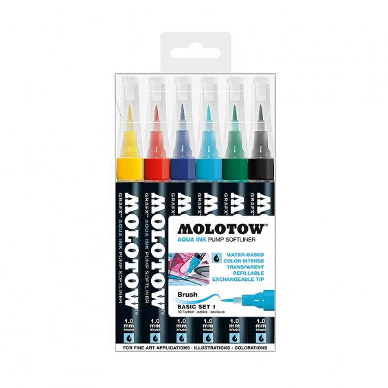 Molotow Grafx Aqua Ink Basic-Set 1