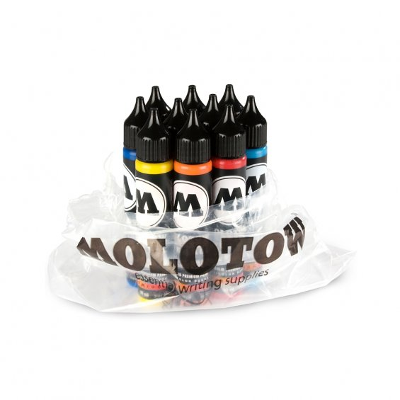 Molotow ONE4ALL Refill 30ml Starter Kit