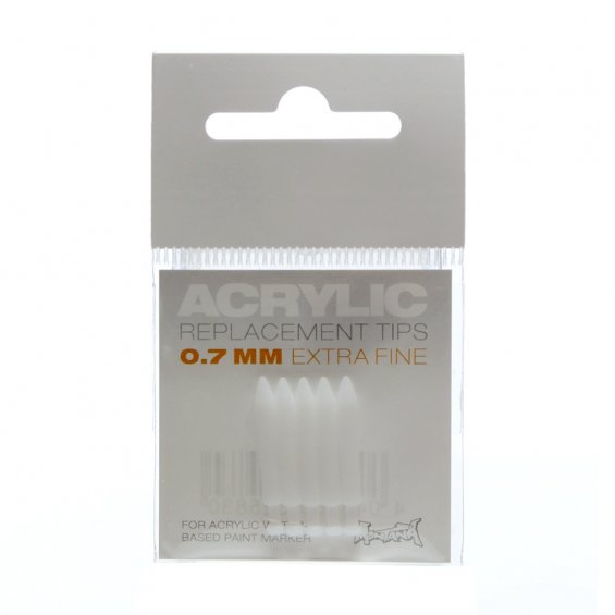 Montana Acrylic Replacement Tip - 0.7mm (5-pack)