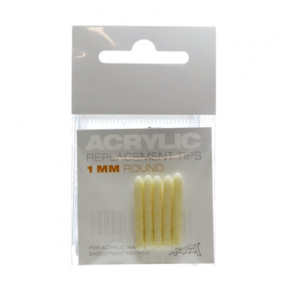 Montana Acrylic Replacement Tip - 1mm (5-pack)