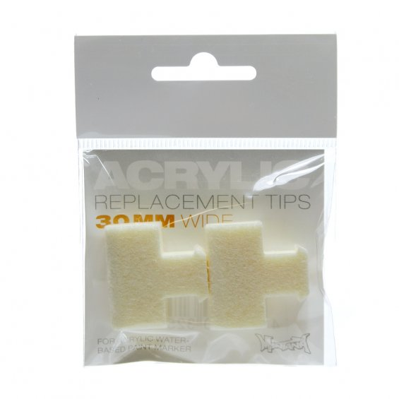 Montana Acrylic Replacement Tip - 30mm (2-pack)