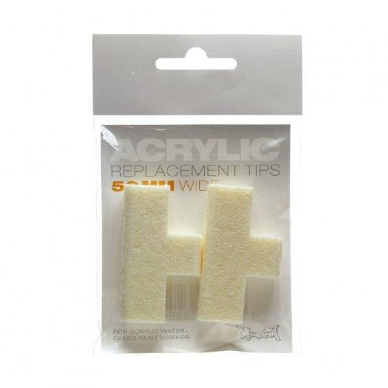 Montana Acrylic Replacement Tip - 50mm (2-pack)