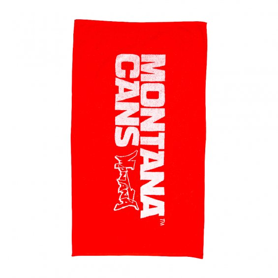 Montana Cans Beach Towel, Red