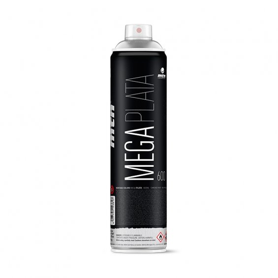 MTN MEGA Plata chrome 600ml
