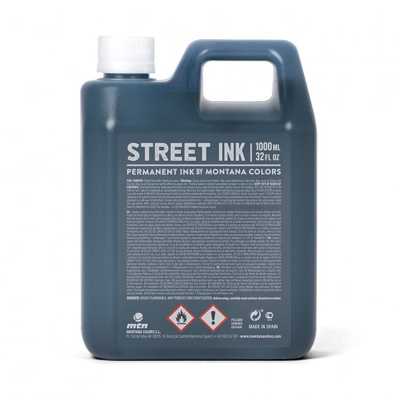 MTN Street Ink 1000ml, Black